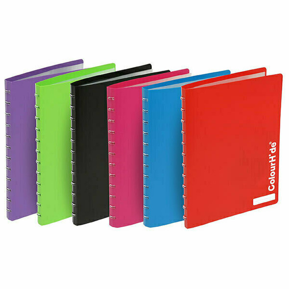 Colourhide My Custom Refillable Display Books Red