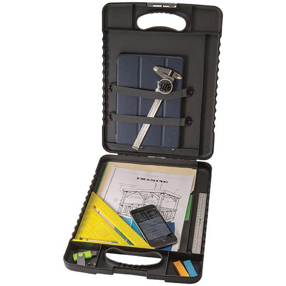 Marbig Heavy Duty Clipboard Folder Charcoal