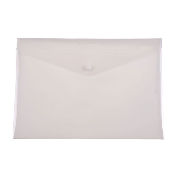 Document wallet clear A4 Cumberland