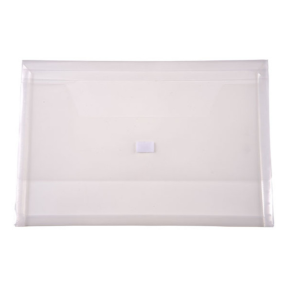Document wallet clear Foolscap  Cumberland