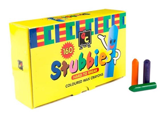Stubbies crayons school pack educational colours