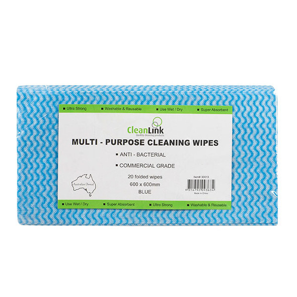 Cleanlink wipes pack 20