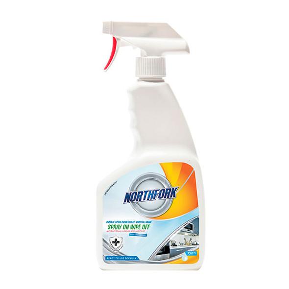 Northfork surface spray disinfectant 750ml