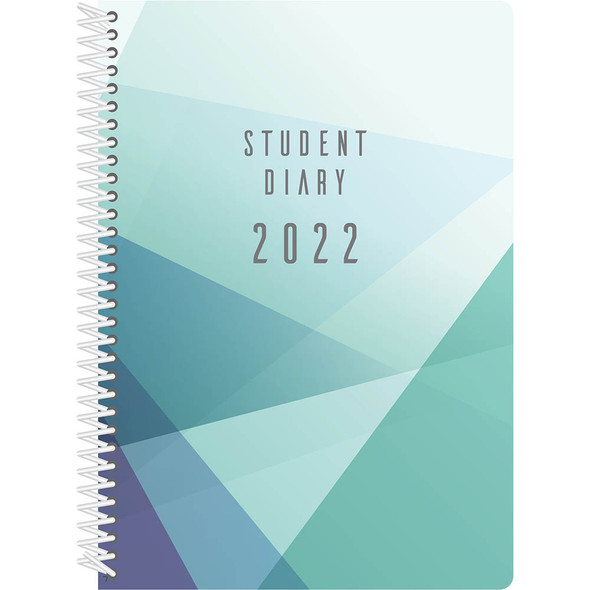 Collins Colplan Student Diary A5 Spiral Bound