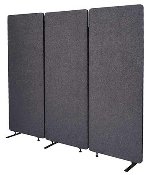 Zip Acoustic Room Dividers 3 Panel