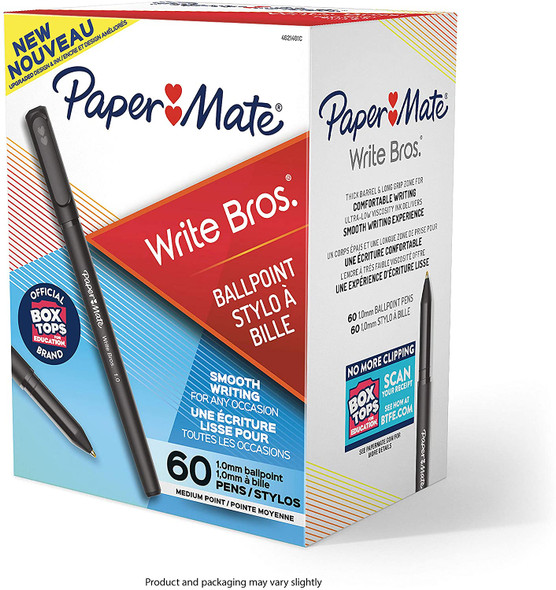 Papermate Write Bros Black Pens