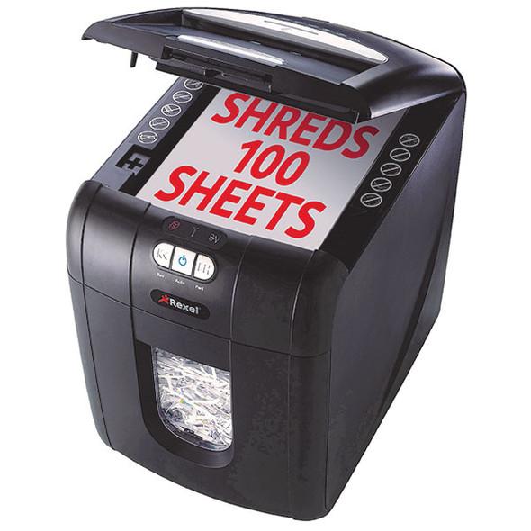 Rexel Shredder Stack & Shred Auto+100X