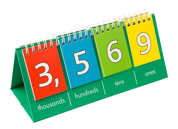Place Value Flip Charts Pack of 10