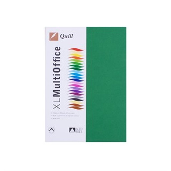 Quill Paper 80GSM A4 Pack 500 - Emerald