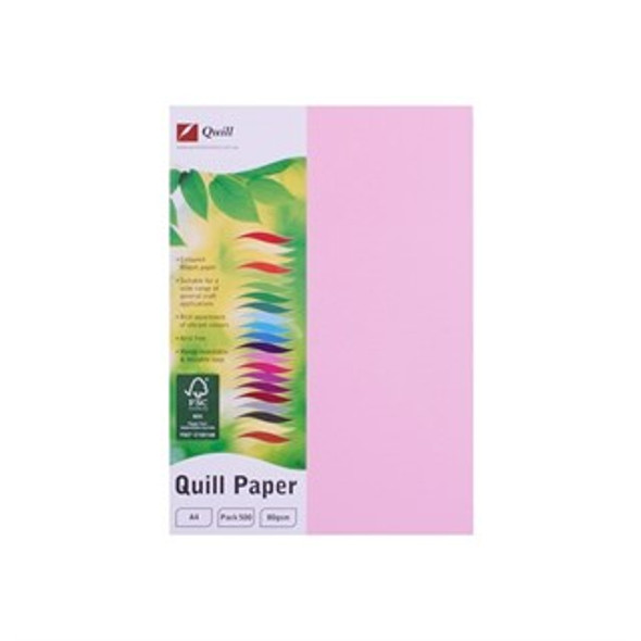 Quill Paper 80GSM A4 Pack 500 - Musk