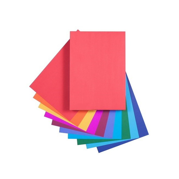Quill Paper 80GSM A4 Pack 500 - Assorted