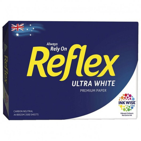 Reflex Copy Paper Ultra White A4 500 Sheets