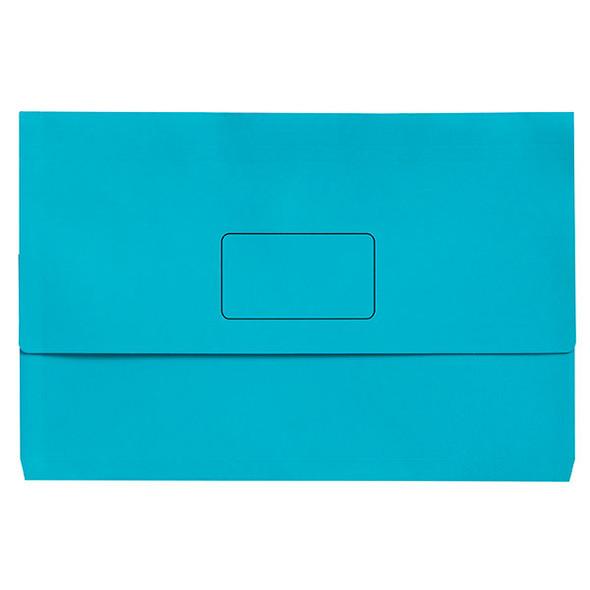 Marbig Slimpick Foolscap Document Wallet Bright Pack 10