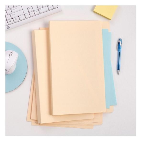 Avery 81502 Manilla Folders Foolscap Buff Box 100