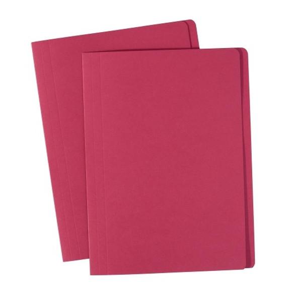 Avery 81512  Manilla Folders Foolscap Red Box 100