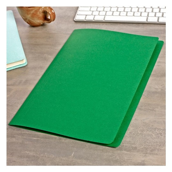 Avery 81532 Manilla Folders Foolscap Green Box 100