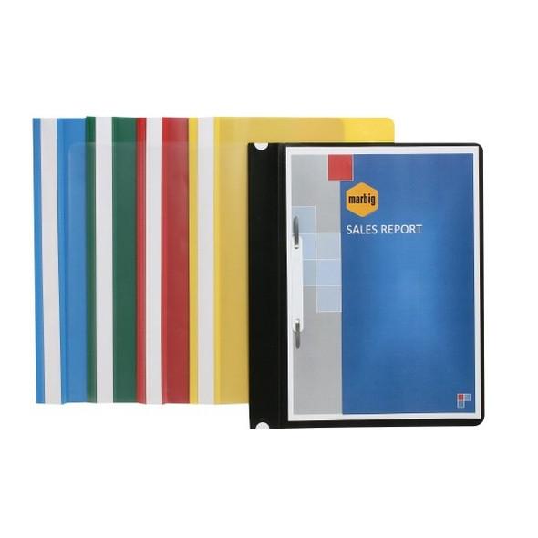 Marbig 1001005 Flat Files A4 Economy Yellow