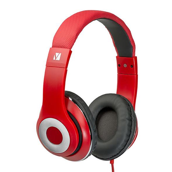 Verbatim 65067 Urban Sound Headphones Classic Red
