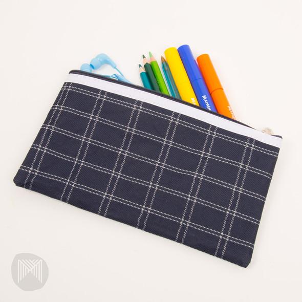Micador Tartan Pencil Case 235x130mm