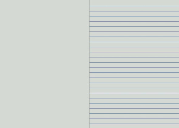 Writer Student Note Book Light Grey 64 page Single Ruled 10mm/Plain