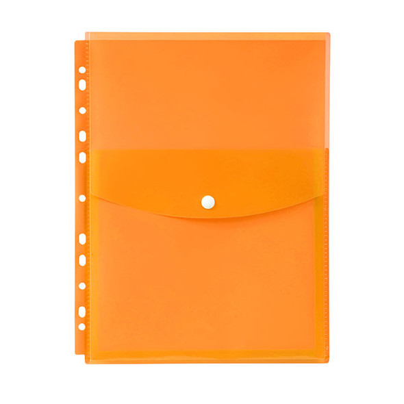 Marbig Binder Wallet A4 Top Open Orange