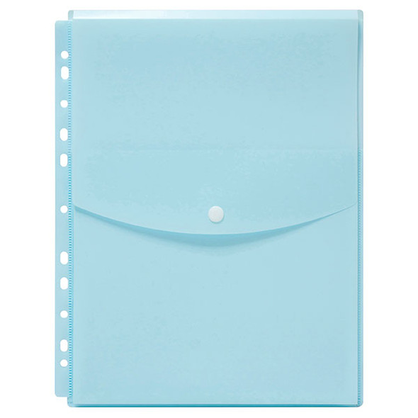 Copy of Marbig Binder Wallet A4 Top Open Pastel Blue