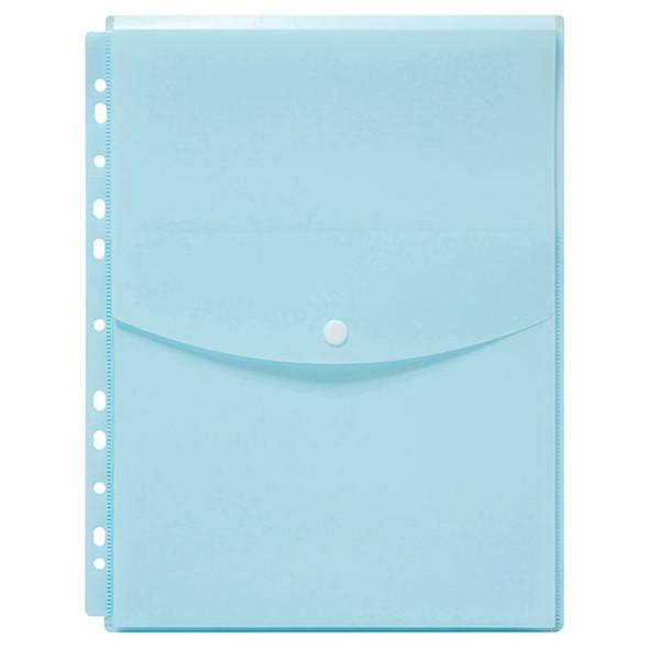 Copy of Marbig Binder Wallet A4 Top Open Pastel Blue
