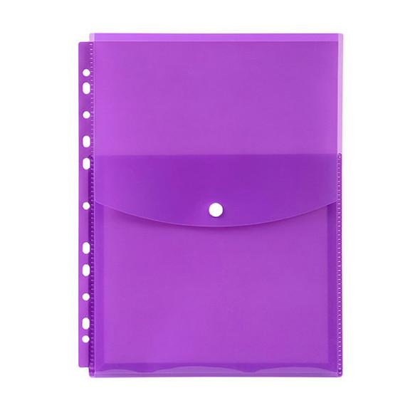 Marbig Binder Wallet A4 Top Open Purple