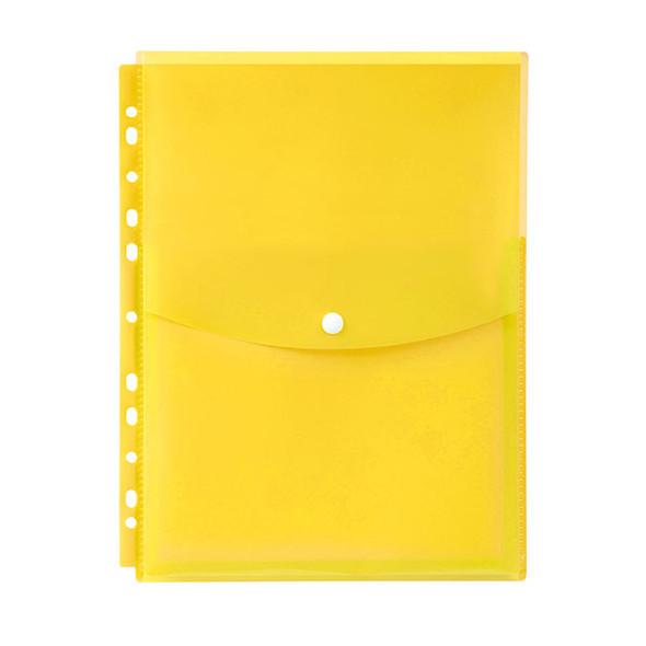Marbig Binder Wallet A4 Top Open Yellow