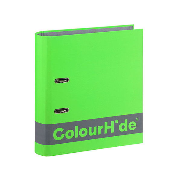 Colourhide Silky Touch Lever Arch A4 70mm Green