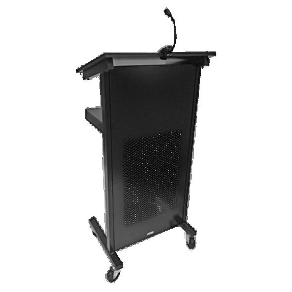 Visionchart VL0001 Professional Style Lectern 1200x445mm - BLACK