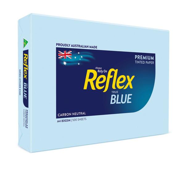 Reflex Colours 80gsm A4 Copy Paper Blue 500 Sheets