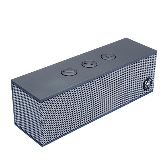 Moki BassBox Portable Wireless Speaker - Platinum