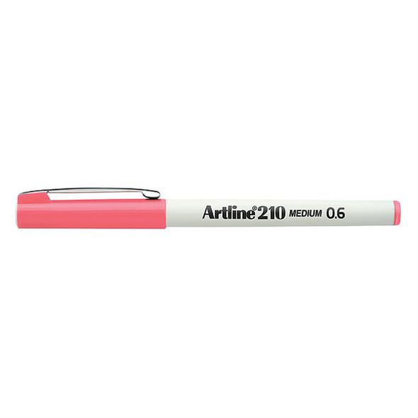 Artline 210 Fineliner Pen 0.6mm Pink