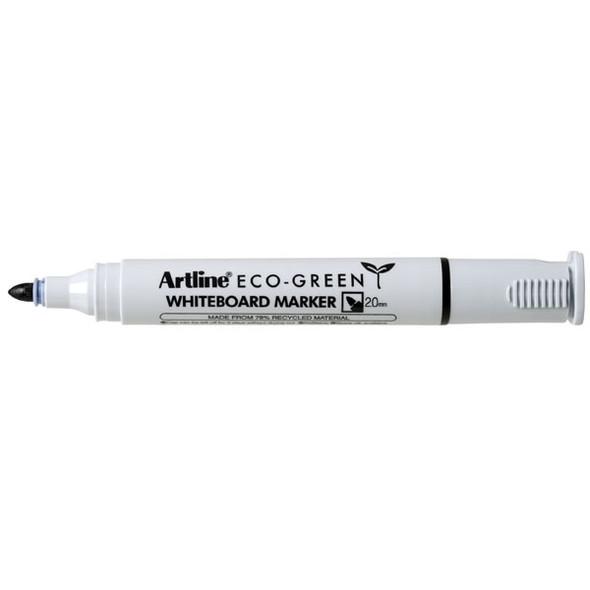 Artline 527 Eco Whiteboard Marker 2mm Bullet Nib Black
