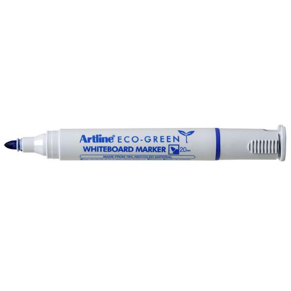 Artline 527 Eco Whiteboard Marker 2mm Bullet Nib Blue