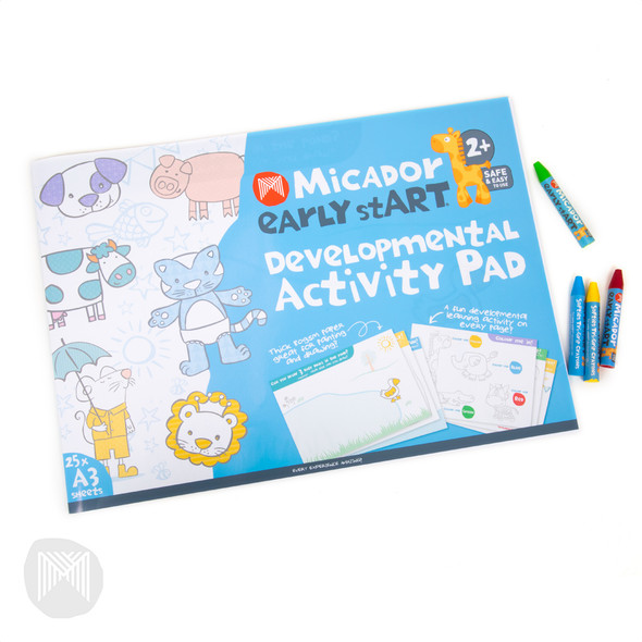 Micador Early Start Developmental Activity Pad FSC Mix