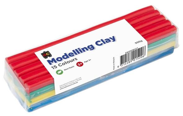 Modelling Clay 500gm Grey Multicoloured  Cello Wrapped