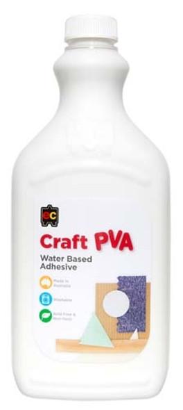 Educational Colours Craft PVA Glue 2lt