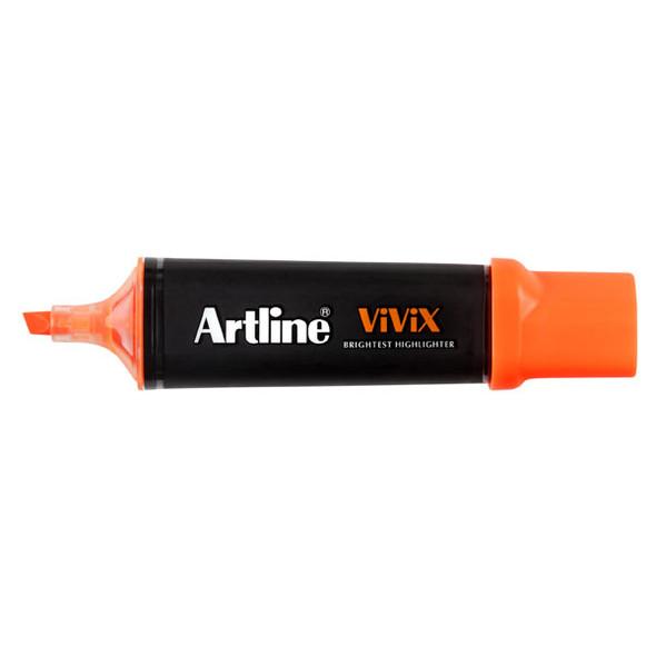 Artline Vivix Highlighter Orange Pack 10