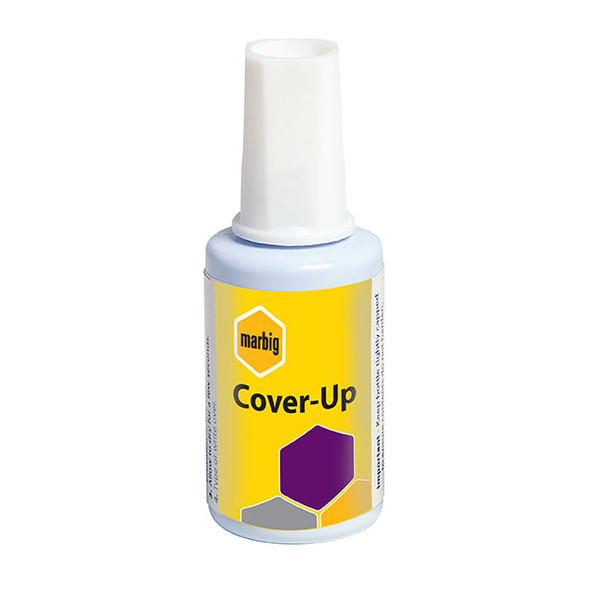 Marbig Correction Fluid Cover Up Blistercard