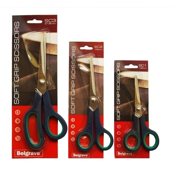 Belgrave Scissors SC1 Stainless Steel 178mm Blue Green