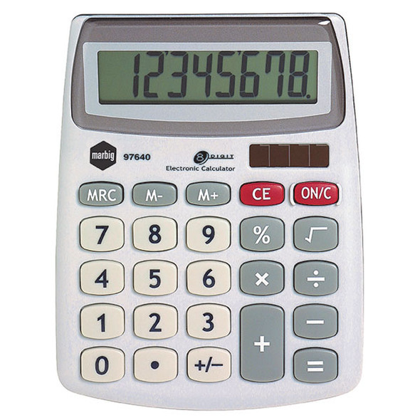 Marbig Calculator Compact Desktop 8 Digit