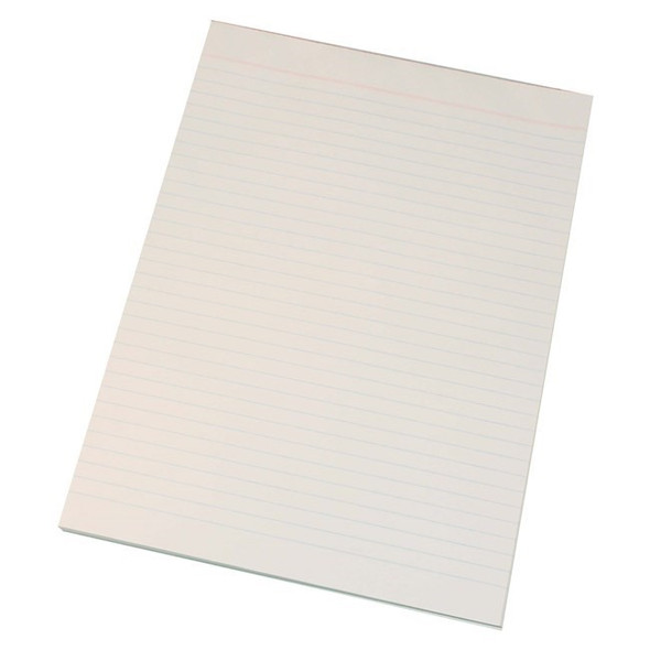 Quill Super Bond Pad Ruled 2 Sides 70gsm A4 70 Leaf - White