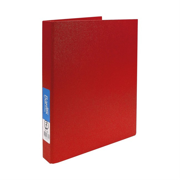 Bantex Ring Binder Standard PP A4 2D Ring 25mm - Red