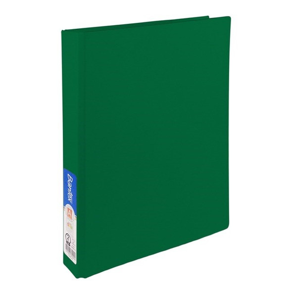 Bantex Ring Binder Standard PP A4 2D Ring 25mm - Green
