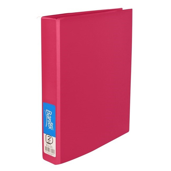 Bantex Ring Binder Standard PP A4 2D Ring 25mm - Grape