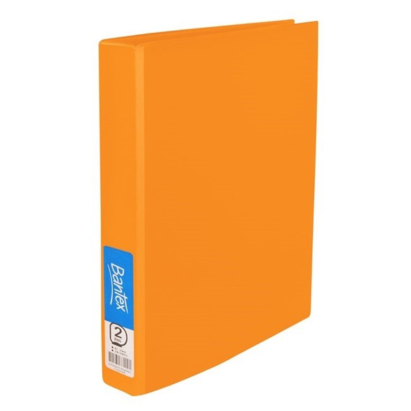 Bantex Ring Binder Standard PP A4 2D Ring 25mm - Mango