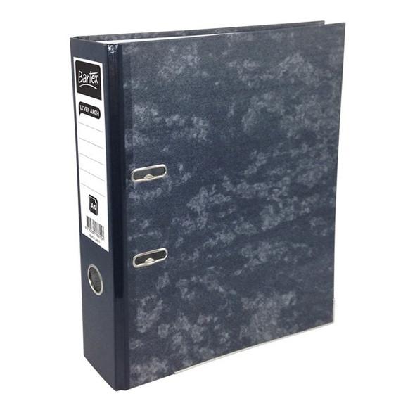 Bantex Lever Arch File Economy Board A4 - Black