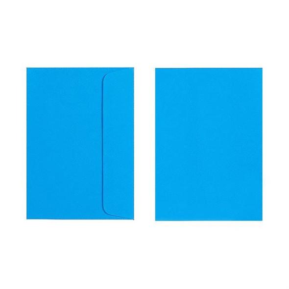 Quill C6 Envelope 80gsm Pack 25 - Marine Blue
